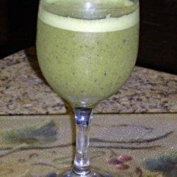 Stu's Green Breakfast Smoothie recipe