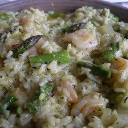 Shrimp and Asparagus Scampi recipe