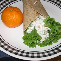 Chicken Salad Wrap With Greek Yogurt recipe