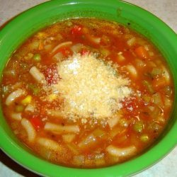 Easy Vegetable Soup / Crock Pot (Or Not!) recipe