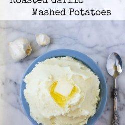Garlic Roasted Mashed Potatoes recipe