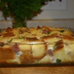 Ham and Swiss Strata recipe