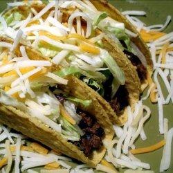 Vegetarian Taco Filling Version II recipe