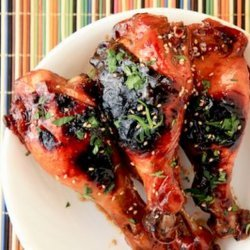Sticky Chicken Drumsticks recipe