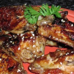 Soy Glazed Chinese Chicken Wings recipe