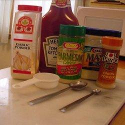Cheesy Island Salad Dressing recipe