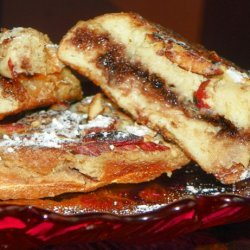 French Toast With Chocolate and Almonds recipe
