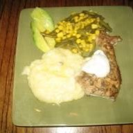 Herbal Crusted Pork Chops With Mustard Cream Sauce recipe