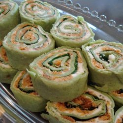 Smoked Salmon Party Roll-Ups recipe