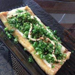 Japanese Tofu Pizza recipe