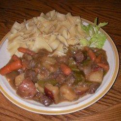 R Bs Pressure Cooker Beef Stew recipe