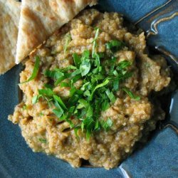Roasted Eggplant Dip from Bahrain(Uukkous Al-Badinjan) recipe