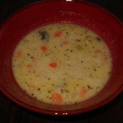 Cream of Roast Chicken Soup recipe
