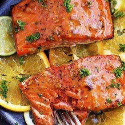 Citrus Grilled Salmon recipe
