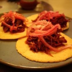 Authentic Cochinita Pibil (Spicy Mexican Pulled Pork) recipe