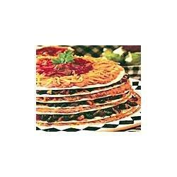 7-Layer Meatless Tortilla Pie recipe