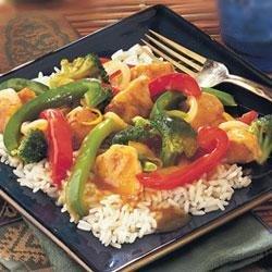 Orange Chicken and Vegetable Stir-Fry recipe