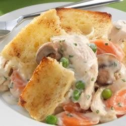 Sister Schubert's(R) Chicken Pot Pie with Bread Topping recipe