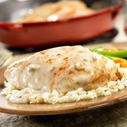 Creamy Ranch Chicken and Rice recipe
