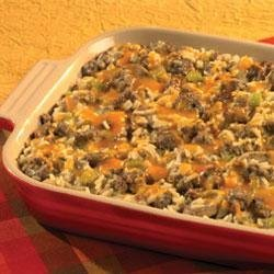 Hearty Sausage and Rice Casserole recipe