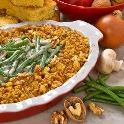 A+ Green Bean and Walnut Casserole recipe