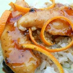 Citrus Chicken Supper recipe