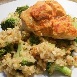 Chicken and Rice Skillet with Broccoli recipe
