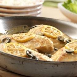 Lemony Olive Chicken recipe