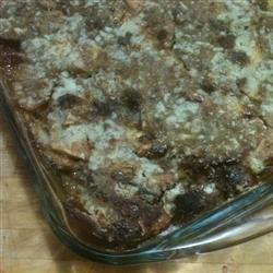 Apple Bread Pudding Pie recipe