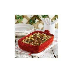 Sausage, Beef and Bean Casserole recipe