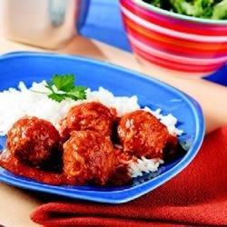 Saucy Porcupine Meatballs recipe