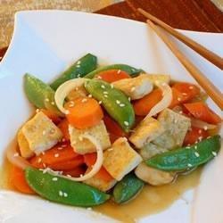 Tofu Vegetable Stir Fry recipe