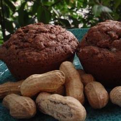 Aunt B's Peanut Butter Muffins recipe