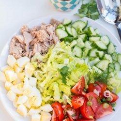 Tuna Cobb Salad recipe