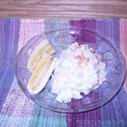 Pineapple Mandarin Orange Cream Orzo Salad recipe
