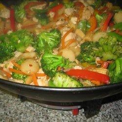 Chicken Tofu Stir Fry recipe