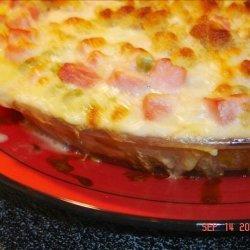 Ham and Stuffing Bake recipe