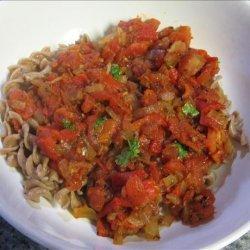 Penne With Roasted Pepper Marinara Sauce recipe