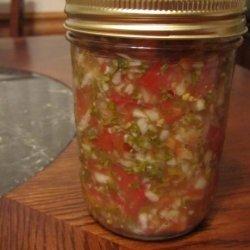 Cultured Spicy Salsa recipe