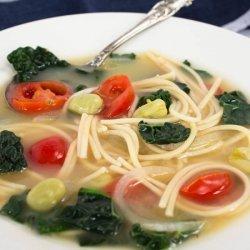Spaghetti Soup recipe