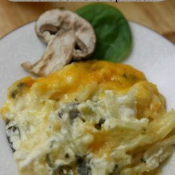 Potato Spinach Casserole recipe