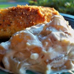 Parmesan Chicken Tenders With Onion Dip recipe