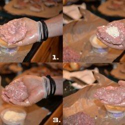 Stuffed Pork Burgers recipe