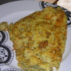 Classic Omelet With Fresh Thyme and Cheddar recipe