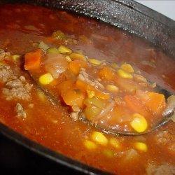Bev's Homemade Vegetable Soup recipe