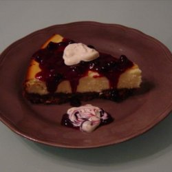 Blueberry Almond Cheesecake recipe