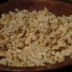 Spicy Garlic Popcorn recipe