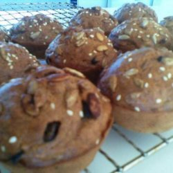 Banana & Chocolate Chip Muffins, Get Tasting & Low-Fat recipe