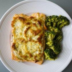 Parmesan Crusted Salmon recipe