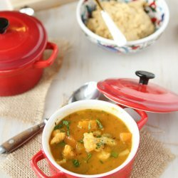Butternut Vegetable Soup recipe